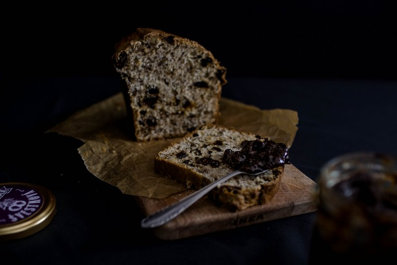 Orechový chlebík recept